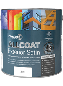 ALLCOAT EXTERIOR SATIN (SOLVENT BASED)