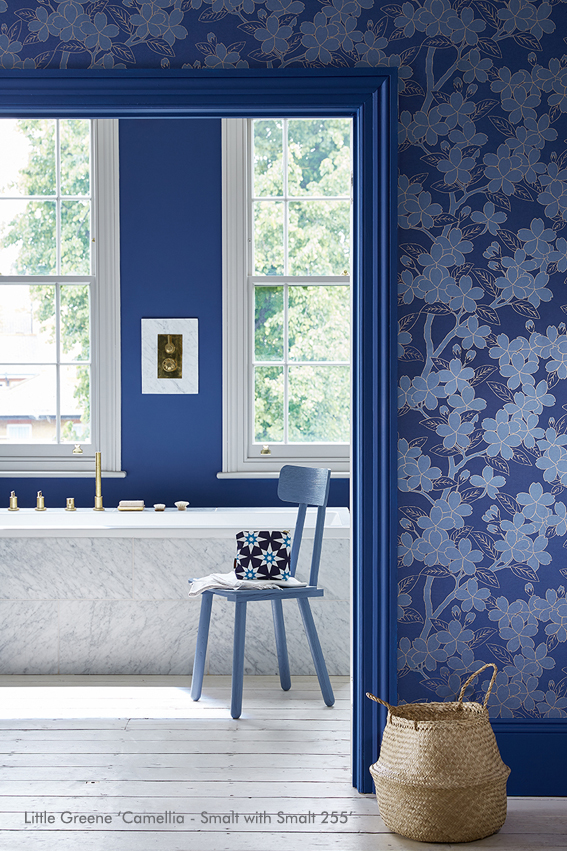 Camellia - Smalt with Smalt 255
