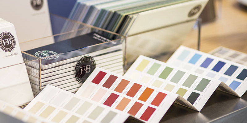 Farrow & Ball Paint at Turner & Wood Decorators Merchant Leeds