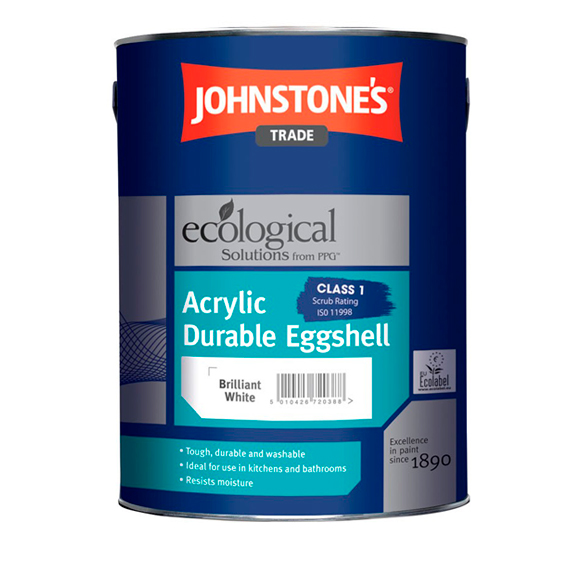 Johnstone's Trade Paints Durable Eggshell