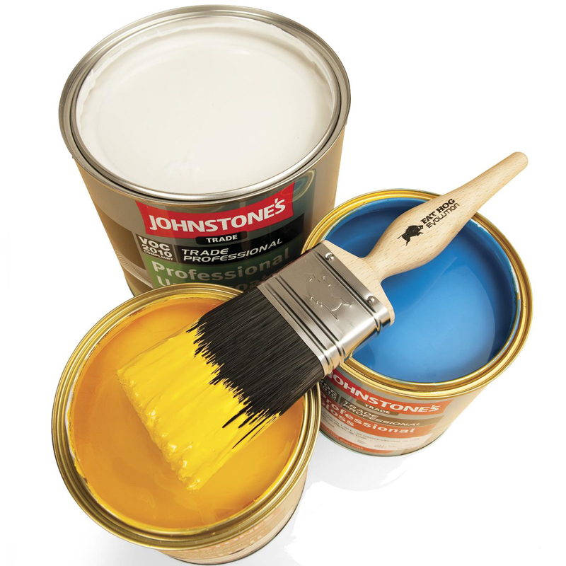 Johnstones Trade Paint available from Turner & Wood Decorators Merchant