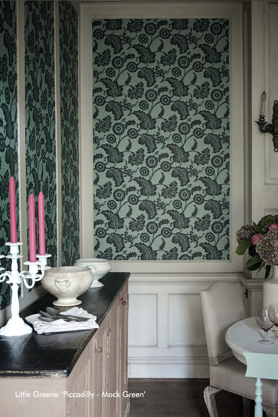 Piccadilly - Mock Green - Detail