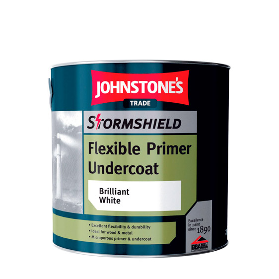 Stormsheild Flexible Undercoat from Johntone's Trade Paints