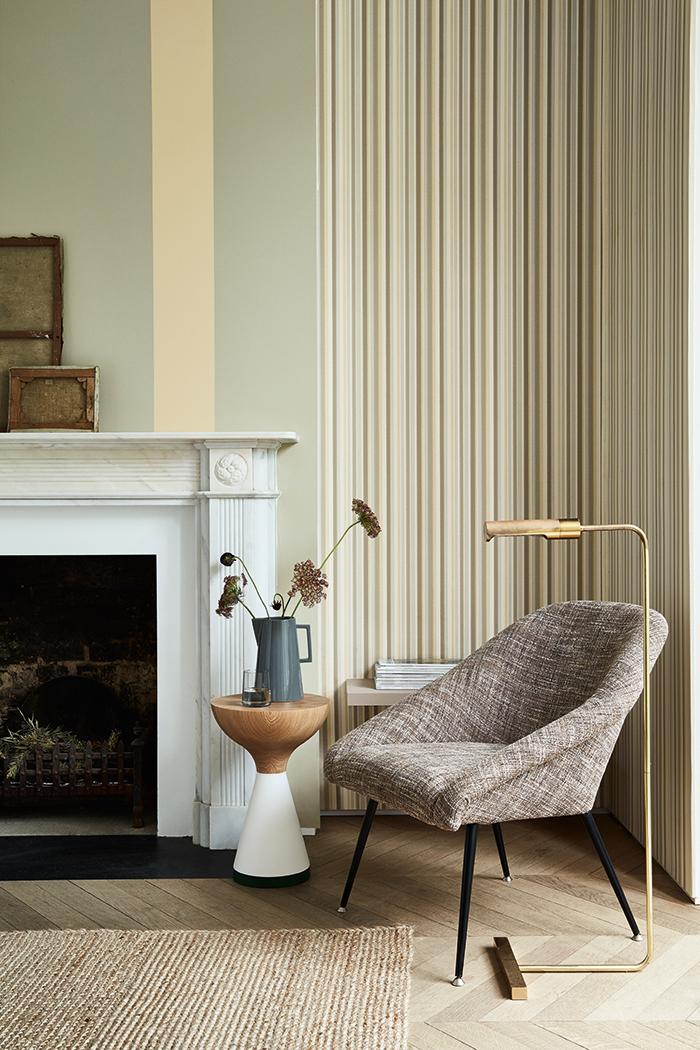 Tailor Stripe Taupe