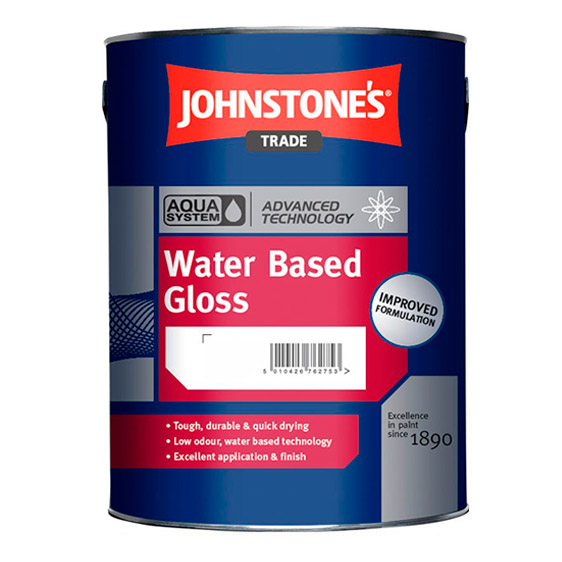Aqua Gloss from Johnstone's Trade Paints