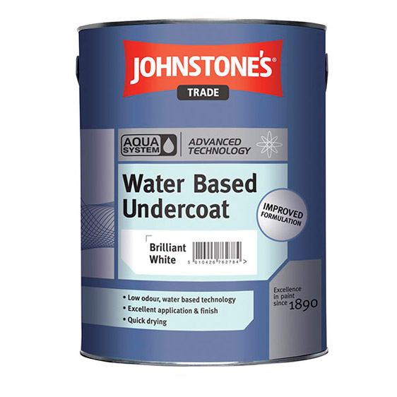 Johnstone's Trade Paint Aqua Based Undercoat Paint