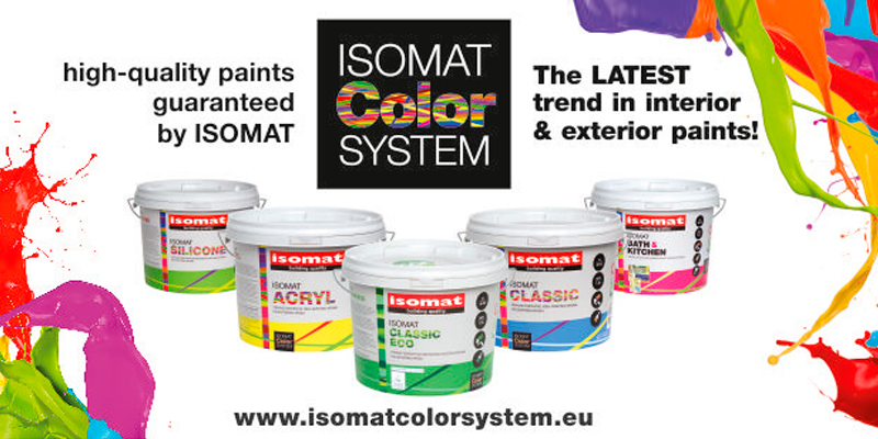 Isomat products at Turner & Woods Decorators Merchant Leeds