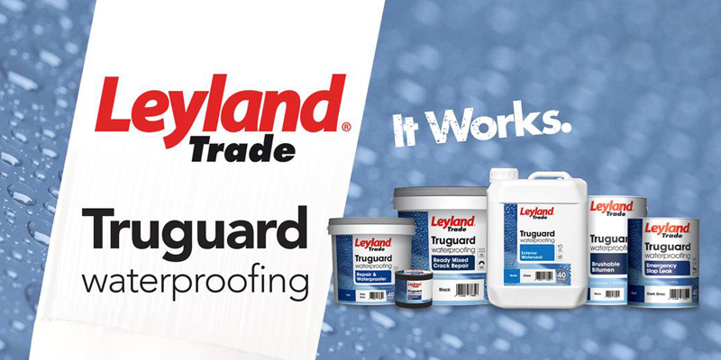 Leyland Trade paint products from Turner & Wood Decorators Merchant Leeds