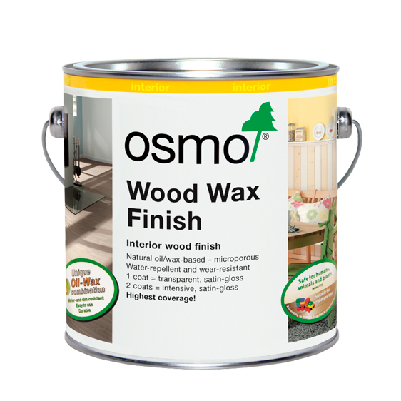 Osmo Woodwax Finish from Turner & Wood Decorators Merchant Leeds